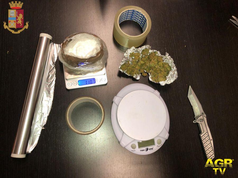 Polizia di Stato, lotta allo spaccio di sostanze stupefacenti