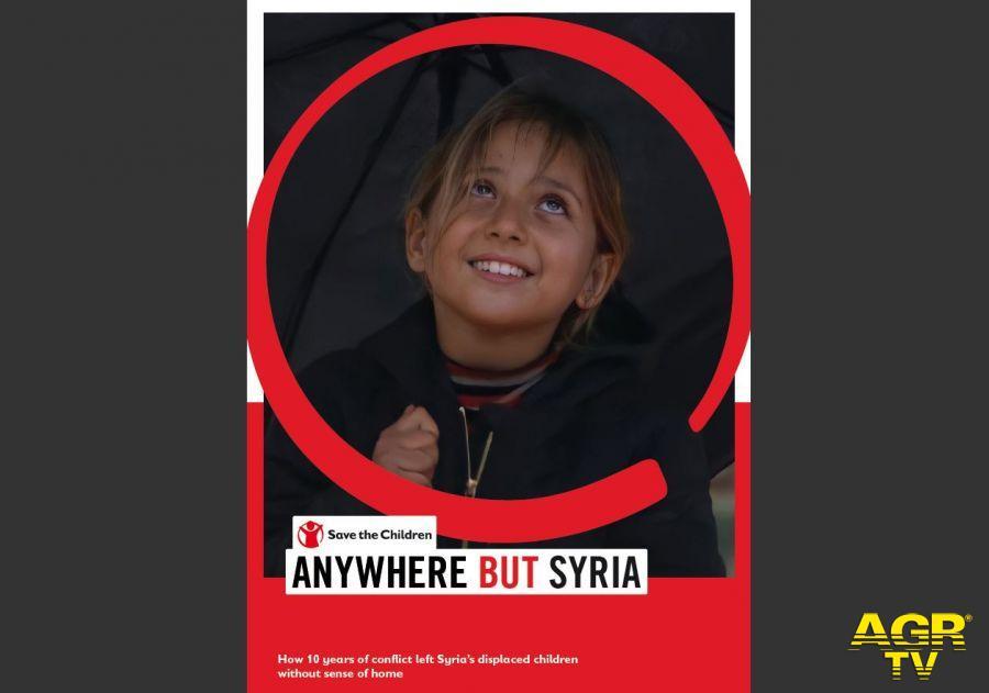 Siria, Save the Children: infanzia perduta