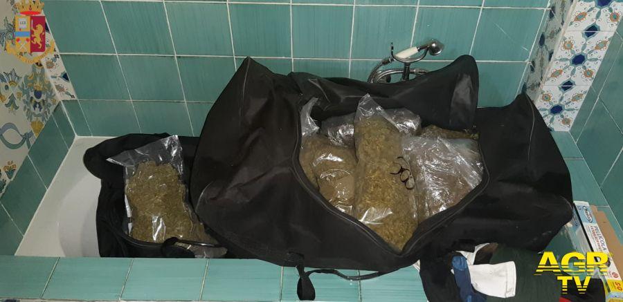 Polizia di Stato.sequestrato un ingentissimo quantitativo di sostanza stupefacente