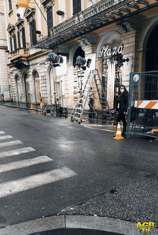 Set Cinematografico Via Del Corso