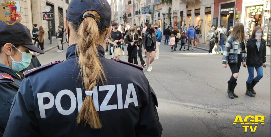 Roma. In atto da ieri i controlli della Polizia di Stato