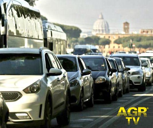 Traffico, nel 2020 Roma la città più congestionata
