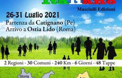 Primo Cammino letterario italiano da Catignano ad Ostia