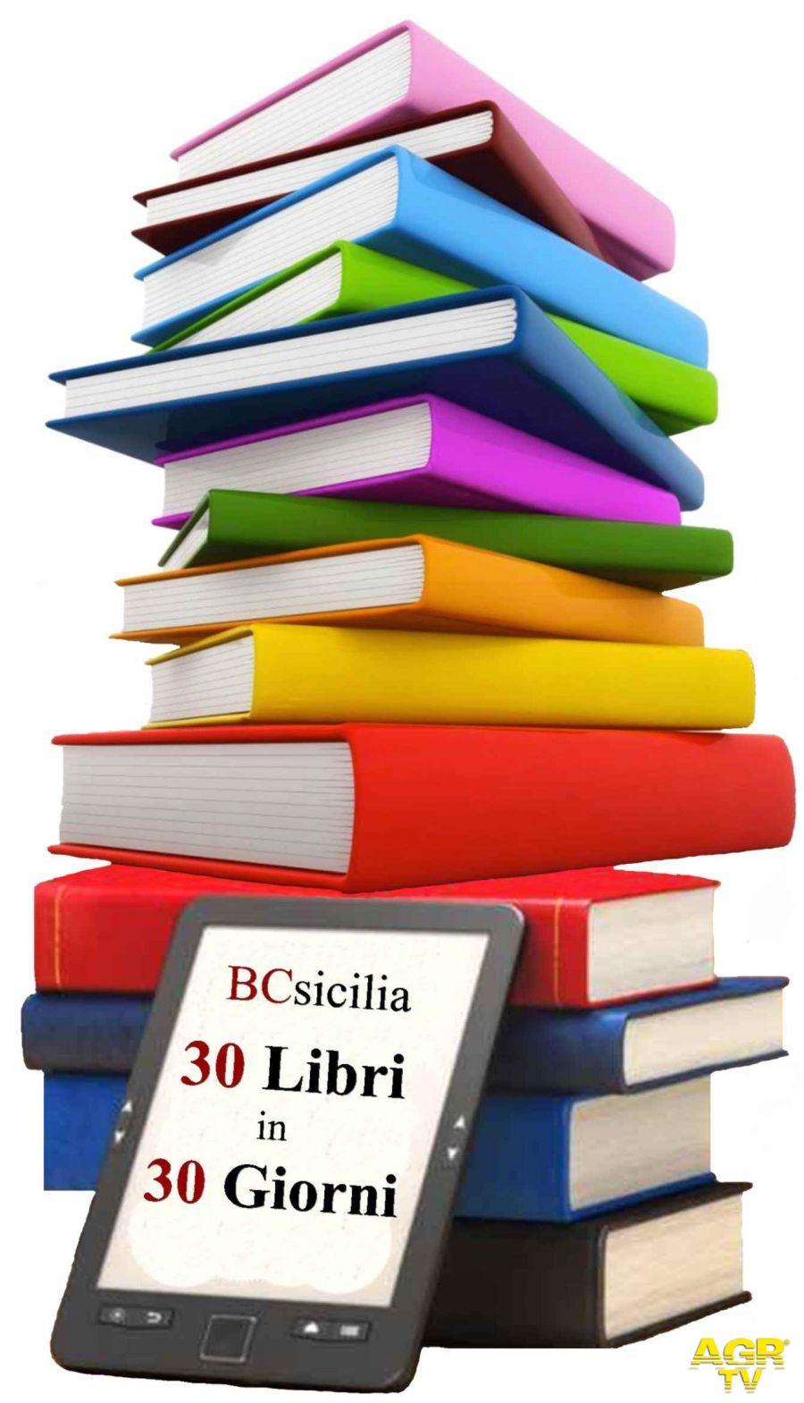 """Sicilia, al via """"30 libri in 30 giorni"""" iniziativa per riscoprire la bellezza della lettura"""