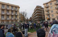 protesta unione inquilini