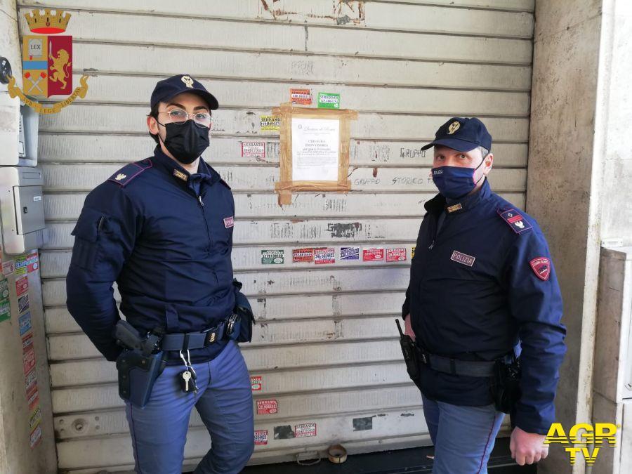 sanzionati dalla Polizia di Stato