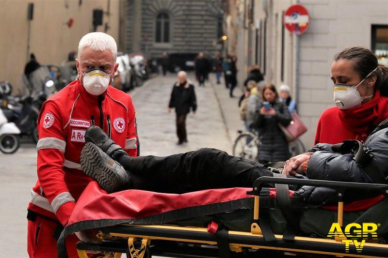 Toscana-Vaccinazione volontariato protezione civile