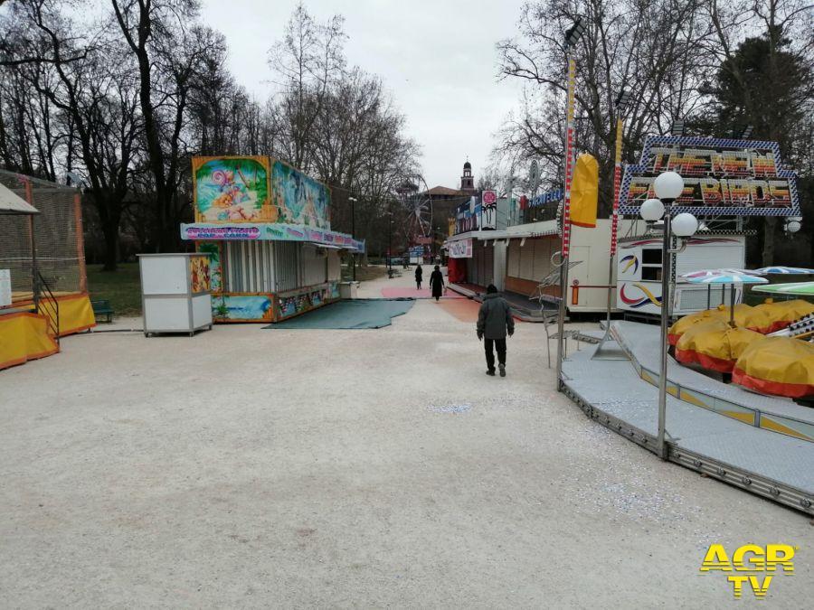 Luna Park e Circhi, protesta in piazza il 26 marzo: crisi profonda, dobbiamo riaprire subito per risollevare il settore
