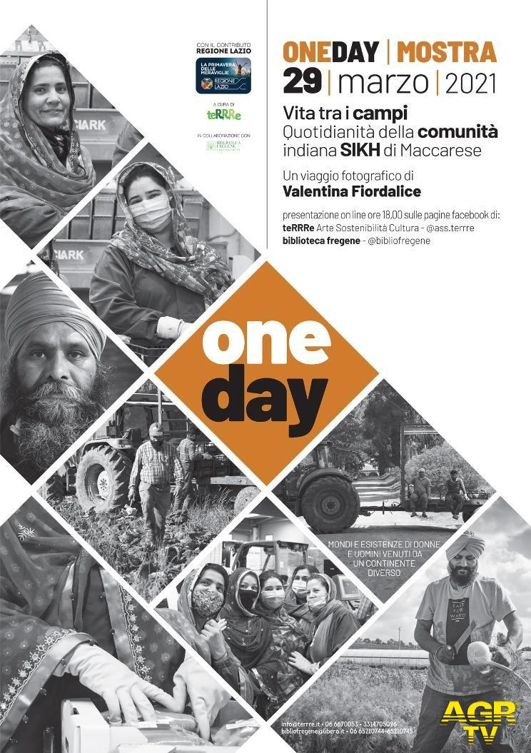 One day.Vita tra i campi, quotidianità della comunità indiana Sikh di Maccarese, mostra fotografica online