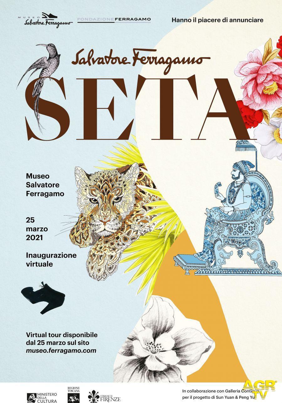 Il fascino della seta al Museo Ferragamo