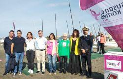 Silvana De Nicolò alla manifestazione della Lega Navale dell'associazione Koeman