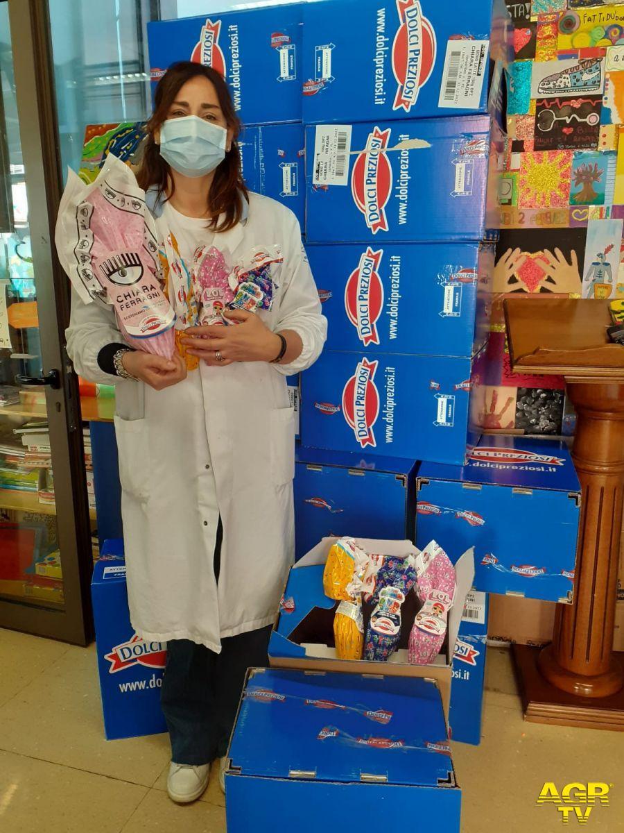 Fiumicino, dal Centro Commerciale Leonardo 850 uova all'ospedale pediatrico Bambino Gesù di Roma e Palidoro