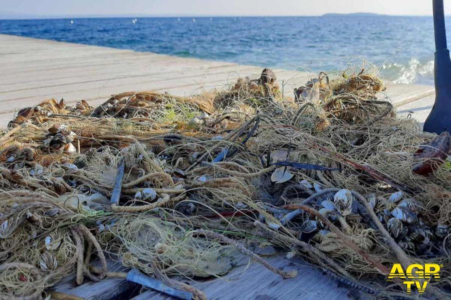 Pesca sostenibile, un progetto per recuperare reti dismesse