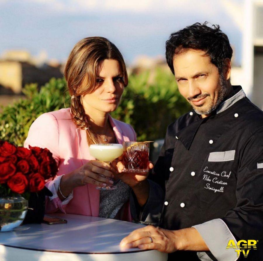 Niko Sinisgalli e la moglie Maria
