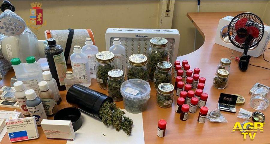 la droga sequestrata
