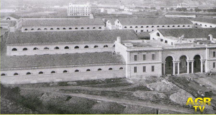 Un'immagine storica del Mattatoio