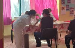 Insieme con i disabili....i ragazzi dell'associazione si sono sottoposti alle vaccinazioni anti-covid