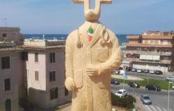 Ostia, logo dell'anima ha ispirato le opere di Salvatore Dattolo, scultore di Dragona