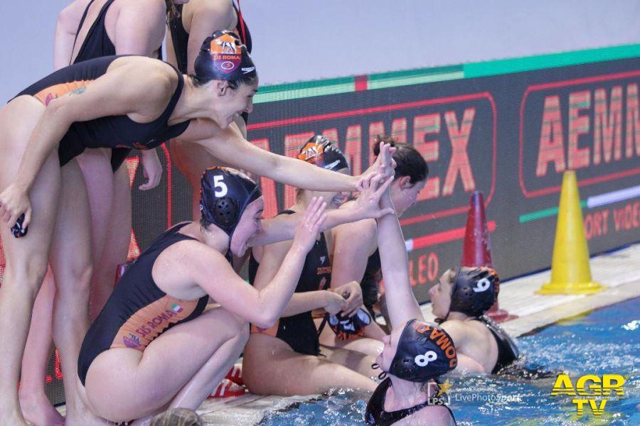 Lifebrain Sis Roma in finale di Coppa Italia, stasera la sfida con l'Ekipe  (Rai sport 19,15)