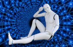 robot futuristico
