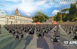 Roma, 17 aprile, Bauli in piazza presenta Il rumore del silenzio tour