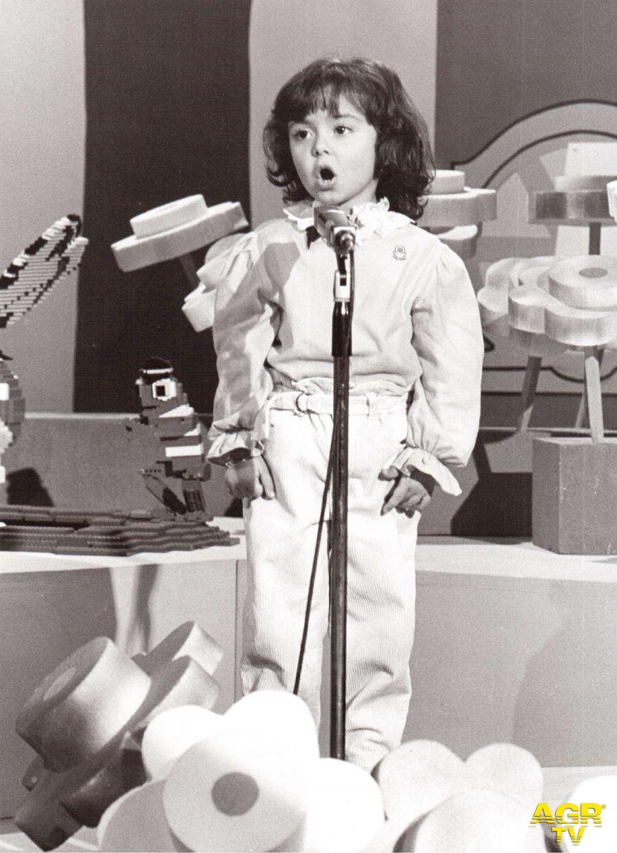 Veronica Fragola vincitrice nel 1982