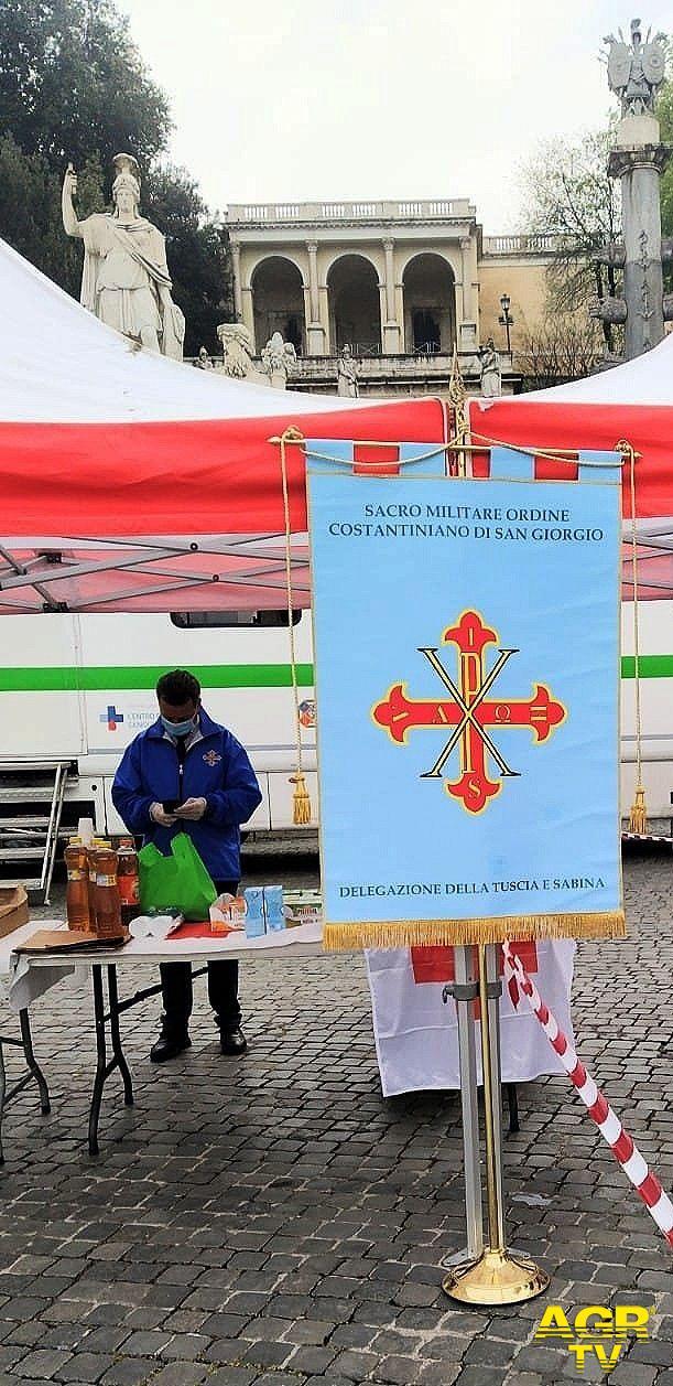 Donazione del sangue  Piazza del Popolo