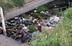 Palidoro, un canale abbandonato al degrado