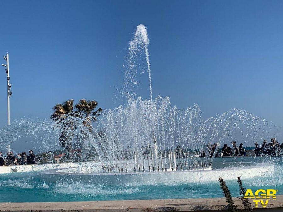 inaugurazione fontana