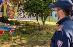 Colleferro, il ministro Fabiana Dadone al giardino dedicato alla memoria di Willy Montero