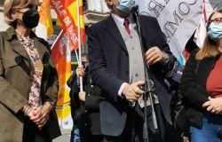Alitalia, la protesta dei lavoratori continua, una delegazione è stata ricevuta nella sede romana della UE