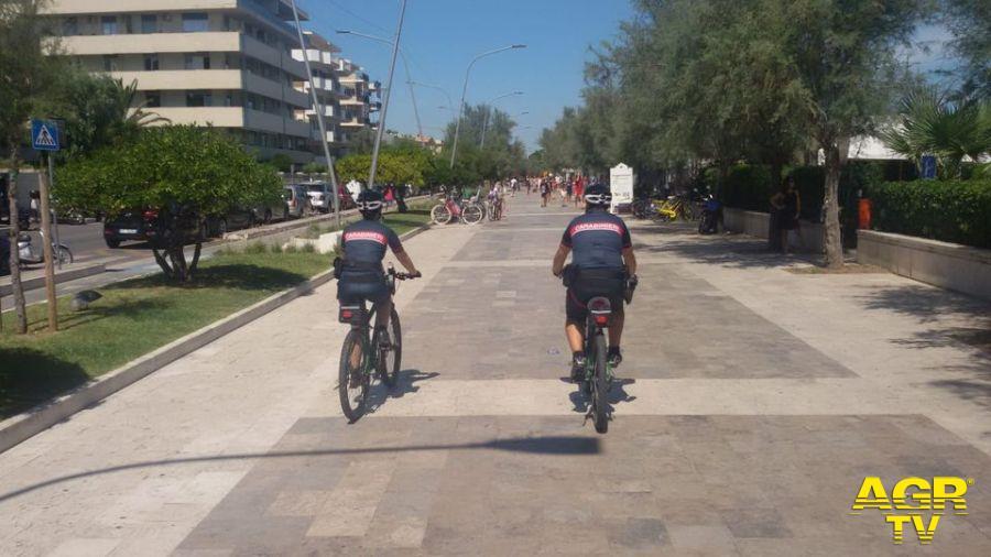 E-bike per i Carabinieri forestali in servizio nei parchi nazionali
