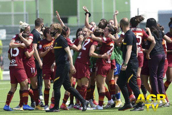 Partita da leggenda della Roma femminile:Una grande Juventus non basta afermare le ragazze del Coach Betty Bavagnoli