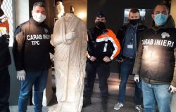 Traffico d'opere d'arte, i carabinieri nel 2020 hanno recuperato oltre mezzo milione di beni culturali