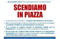 2 maggio cittadini in piazza per difendere la Madonnina di Sempione