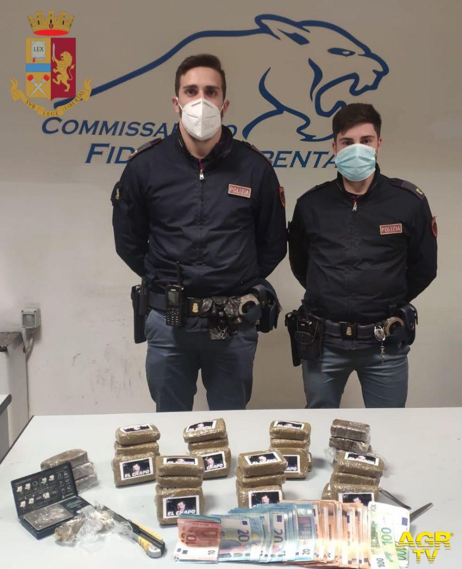 Droga, made El Chapo nella city car, nei guai 36enne albanese
