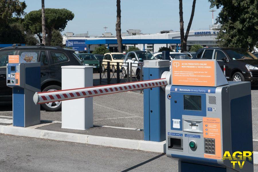 Aeroporto, nuovo sistema di automazione per il controllo accessi ai parcheggi di Fiumicino e Ciampino