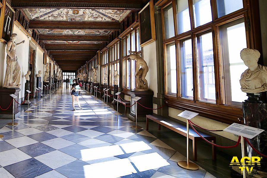 Musei Statali Galleria degli Uffizi, la riapertura è da record: più di 21mila visitatori nella prima settimana