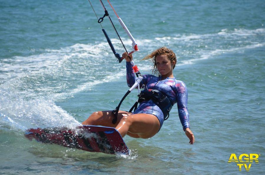 Fregene, vietato il kitesurf...Severini: serve chiarezza, è sempre stato consentito