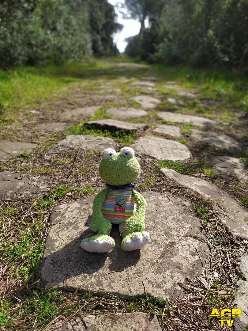 Piccoli legionari sulla via Severiana....una passeggiata nella storia