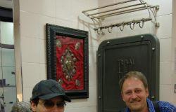 Marco Manzo con Gabriel Garko