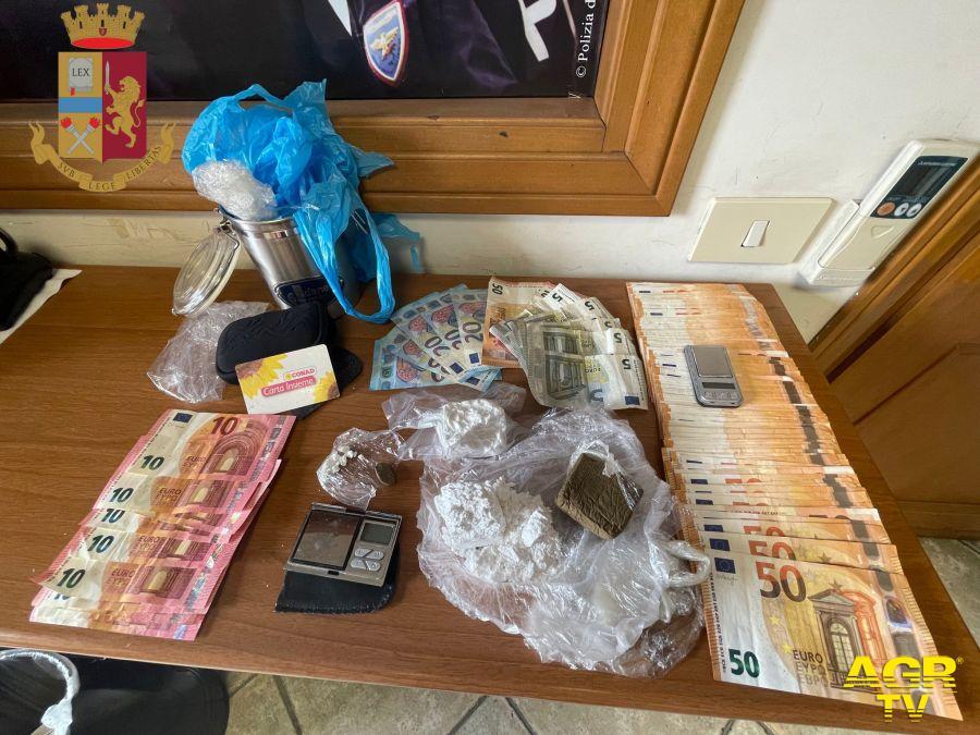Arrestato dalla Polizia di Stato un 35enne per detenzione ai fini di spaccio di sostanze stupefacenti