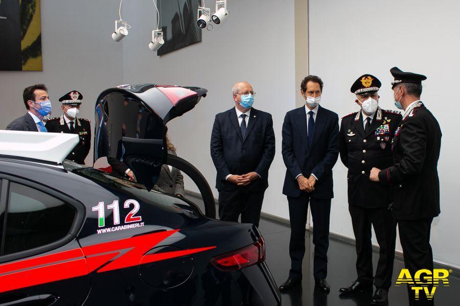 Giulia Carabinieri presentazione auto