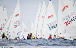 Vela, Italia Cup 2021, Ilca Tognazzi Marine Village con il vento in poppa