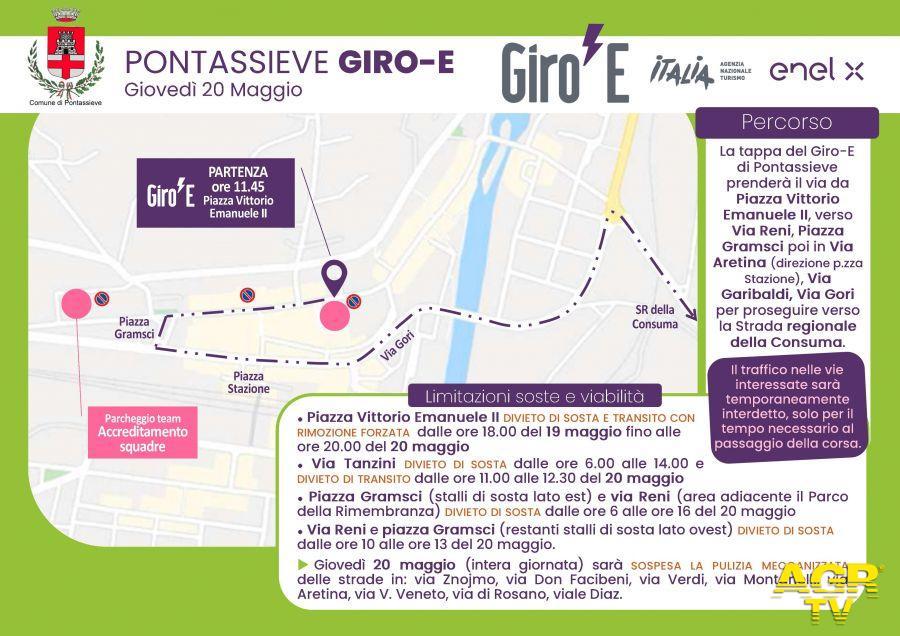 Comune di Pontassieve Pontassieve - Giro-E il Giro riservato alle E-bike farà tappa a Pontassieve