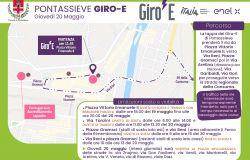 Pontassieve - Giro-E il Giro riservato alle E-bike farà tappa a Pontassieve