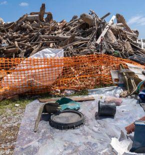 Tevere, rimosse dalle scogliere di Fiumicino oltre 150 tonnellate di rifiuti