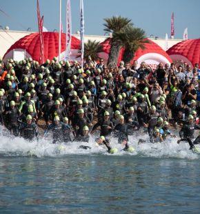 Al porto turistico di Roma torna il grande sport, Triathlon, paratriathlon, running e nuoto