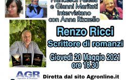 Francesca Faiella e Gianni Maritati Intervistano con Anna Rizzello Renzo Ricci Scrittore di romanzi