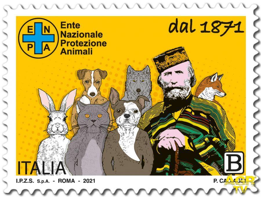 Filatelia, emesso il francobollo commemorativo dei 150 anni dell'ENPA